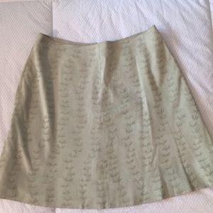 Emporio Armani Suede Skirt